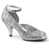 BELLE - 381G Silver Glitter